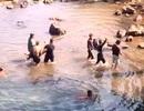 Xuống thác tắm sau chầu nhậu, một công nhân chết đuối