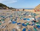 """Hàng trăm người thu gom 30 tấn rác, """"giải cứu"""" bãi biển xinh đẹp"""