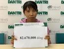 Bạn đọc giúp đỡ cô bé u não đội đơn cầu cứu gần 83 triệu đồng