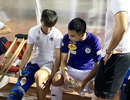 Đình Trọng và Duy Mạnh cùng sang Singapore kiểm tra chấn thương