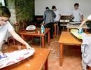 Trường học Tây Ban Nha dạy nam sinh làm việc nhà