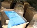 Phát hiện xe tải vận chuyển hàng chục ngàn khẩu trang không rõ nguồn gốc