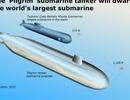 Nga có thể chế tạo tàu ngầm lớn nhất thế giới chạy bằng năng lượng hạt nhân