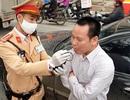 """Hà Nội: Tài xế ô tô gây tai nạn vi phạm nồng độ cồn mức """"khủng"""""""