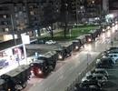 Xe quân sự xếp hàng dài di chuyển thi thể bệnh nhân Covid-19 ở Italia