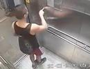 Truy tìm người đàn ông bôi nước bọt lên bảng nút điều khiển thang máy