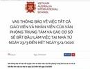 Trường Việt Úc yêu cầu giáo viên tiếp xúc với ca mắc Covid-19 tự cách ly