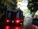 Phun khử trùng Bạch Mai: Đảm bảo chiến sĩ không mang mầm bệnh về đơn vị