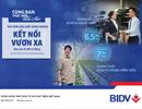 BIDV - Cho vay duy trì sản xuất kinh doanh mùa Covid 19, lãi suất từ 6,5%/năm