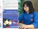 Nữ sinh cấp 3 lập trang thông tin Covid-19 cho người nước ngoài ở Việt Nam