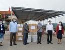 Quảng Trị tặng vật tư y tế cho tỉnh Salavan chống dịch Covid-19