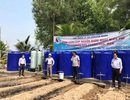 Cấp nước sạch miễn phí cho hàng nghìn hộ dân quay cuồng vì hạn, mặn
