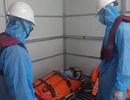 Vượt sóng cứu ngư dân bị tai biến nguy kịch ngoài Hoàng Sa