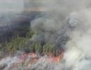 Cháy rừng ngùn ngụt ngay gần nhà máy hạt nhân Chernobyl