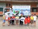 Mùa dịch Covid-19,trẻ em làng SOS vẫn được quan tâm, đón nhậnquà!