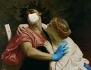 Các nhân vật trong siêu phẩm hội họa... tuyên truyền chống dịch Covid-19