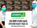 Uniben trao tặng 150.000 bữa ăn dinh dưỡng và nước trái cây Joco tới y, bác sĩ các bệnh viện tuyến đầu