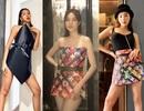Kỳ Duyên, Minh Triệu, Lan Ngọc... cắt túi giấy làm váy cực kì gợi cảm