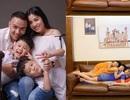 """MC Hoàng Linh chia sẻ ảnh gia đình nằm chồng lên nhau gây """"bão mạng"""""""