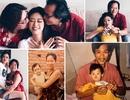 """Hoa hậu Khánh Vân """"tái hiện"""" ảnh chụp lúc 1 tuổi cùng ba mẹ"""