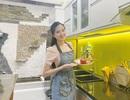 """Hoa khôi Huỳnh Thuý Vi: """"Bữa cơm gia đình là điều đáng quý"""""""