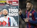 Neymar sẵn sàng hy sinh núi tiền để tái ngộ Messi