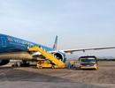 Chuyến bay đưa 224 người Việt từ Pháp hạ cánh xuống Vân Đồn