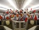 Hình ảnh chuyến bay thẳng đầu tiên Việt Nam - Mỹ đón 340 công dân về nước