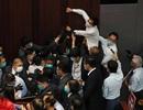Nghị sĩ Hong Kong ẩu đả giữa cơ quan lập pháp