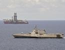 """Mỹ điều tàu chiến tới """"điểm nóng"""" ở Biển Đông"""