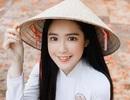 Hot girl được báo Trung Quốc khen ngợi đẹp dịu dàng mùa chia tay mái trường