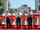 Thủ tướng cắt băng khánh thành đền thờ gia tiên Chủ tịch Hồ Chí Minh