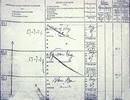 Trang sổ lương của Bác Hồ khi làm phụ bếp trên tàu Pháp năm 1911