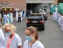 Hàng trăm nhân viên y tế Bỉ quay lưng khi thủ tướng tới thăm