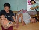 Xót xa cảnh gia đình nghèo cùng cực bị bệnh tật bủa vây không lối thoát
