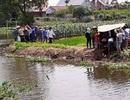Hai cháu bé 2 tuổi chết đuối thương tâm dưới sông cạnh nhà