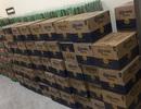 Tạm giữ hàng trăm thùng bia nhãn hiệu nước ngoài không nhãn mác