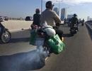 """Bộ Tài nguyên """"đòi lại"""" quyền kiểm soát khí thải xe máy từ Bộ Giao thông?"""