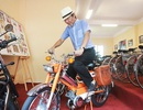 """Cận cảnh xe đạp máy """"cá vàng"""" từng cógiá bằng cả ngôi nhà mặt phố Hà Nội"""
