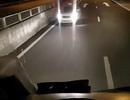 Điều tra xe taxi đi ngược chiều trên cao tốc Đà Nẵng-Quảng Ngãi