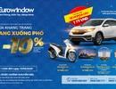 Cơ hội trúng ô tô nhân kỷ niệm 18 năm thành lập Eurowindow