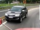 Lại phát hiện ô tô chạy ngược chiều trên cao tốc Đà Nẵng - Quảng Ngãi