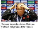 """Báo Malaysia: """"Đội tuyển Việt Nam đang tuyệt vọng"""""""