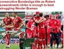 Báo chí thế giới ngợi ca chức vô địch của Bayern Munich
