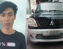 Thanh niên bị bắt khi đang sửa ô tô trộm được