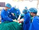 Bệnh viện tuyến huyện nối thành công cẳng chân đứt lìa