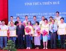 PV Dân trí nhận Bằng khen của Chủ tịch Thừa Thiên Huế