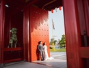 Ngất ngây bộ ảnh cưới đẹp như mơ tại vườn Nhật Bản Vinhomes Smart City