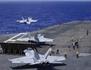 """Hai tàu sân bay Mỹ tập trận ở Thái Bình Dương """"nắn gân"""" Trung Quốc"""