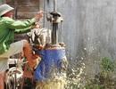 Hà Tĩnh: Nhọc nhằn nghề khoan giếng mùa nắng hạn